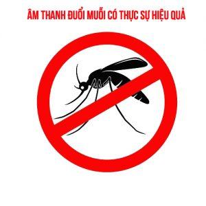 Âm thanh đuổi muỗi liệu có thực sự hiệu quả?
